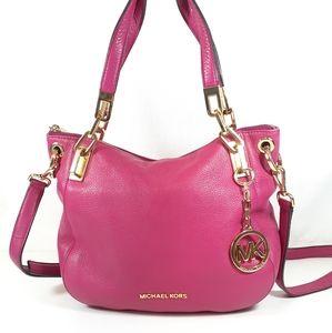 Michael Kors Pink Leather Purse Shoulder Bag